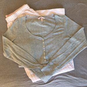 Victoria's Secret Size Medium pajamas.